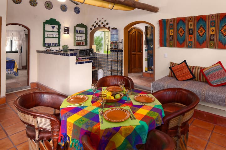 open floor plan  and casual dining