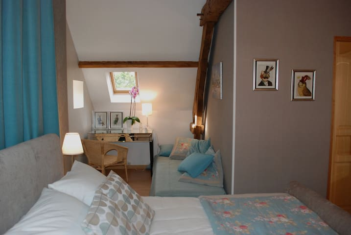 Rooms in a beautiful country house - Saint-Brice - Hus
