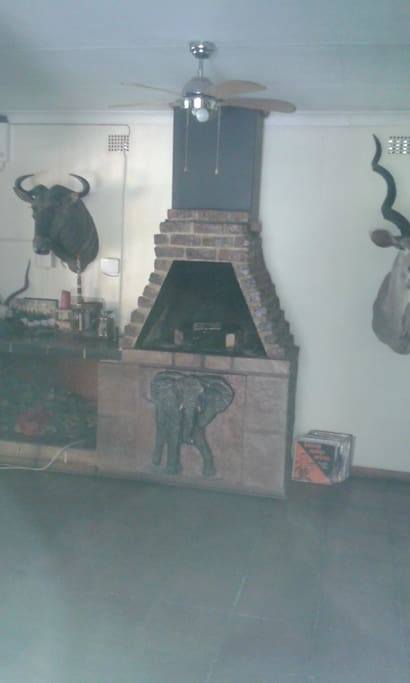 Indoor barbeque facilities