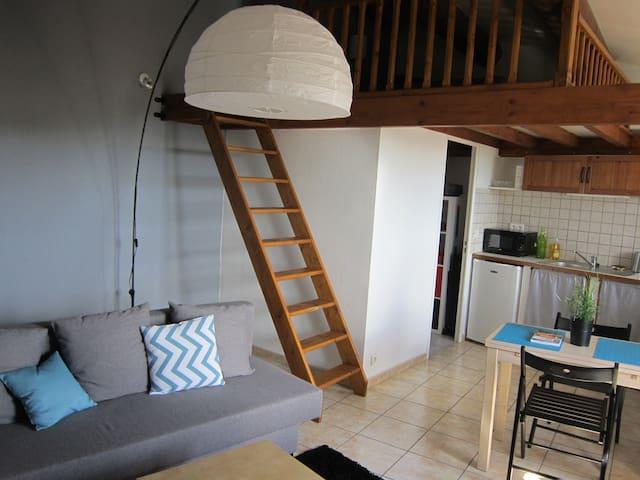 Charmant studio Lambesc 2 à 4 personnes - Lambesc - Apartamento
