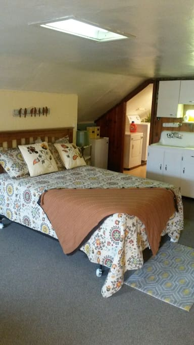 Quaint space for your stay in our little village.