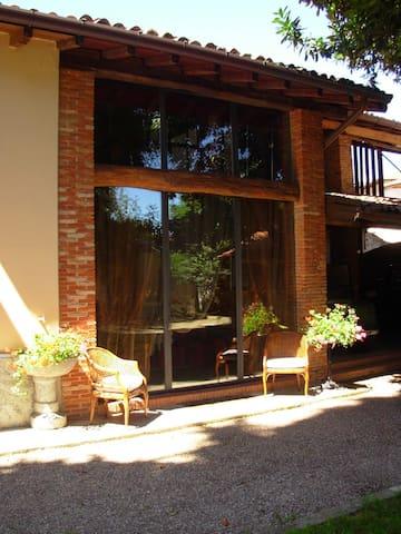 Casa sul giardino_Lago di Monate - Cadrezzate - Lägenhet