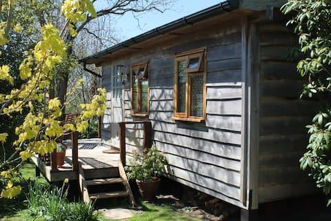 Uroczy drewniany Eco Cabin w SE Cornwall