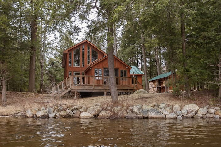 Lakefront Cabin with Sauna, Boats, GREAT View! - Wells