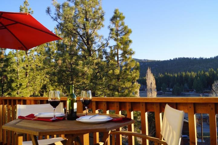 BIG BEAR LAKE house. STUNNING VIEWS - Big Bear Lake - Casa