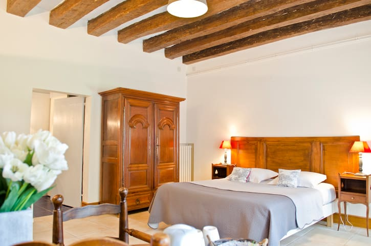 la HERAUDIERE 3 - chambre St Martin - Tours - Bed & Breakfast