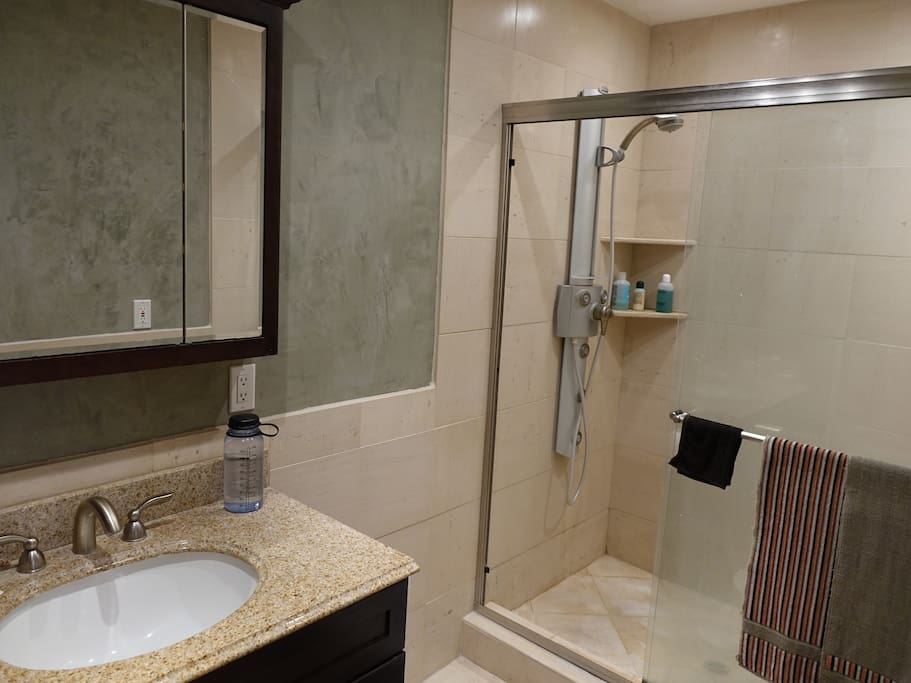 This is your own private bathroom.
