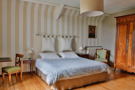 Chambre Tombelaine 21m2 - Dragey-Ronthon - Bed & Breakfast
