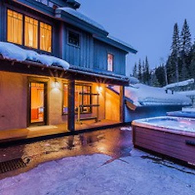 2 Hot Tubs with heated surrounding floors, so no one gets left out.