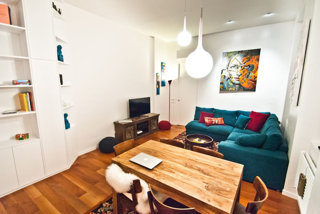 Open Space Living Room / Dining Room