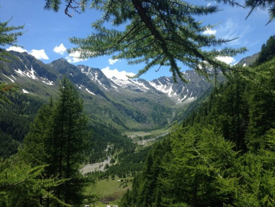 Enjoy  spectacular mountain walks, walk to France, clime Mont Viso Italy's highest peak, Or just enjoy a leisurely stroll and a picnic by the river..