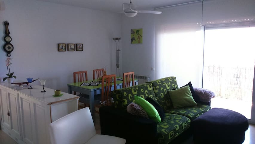 Piso amueblado con vistas a Montserrat - Sant Fruitós de Bages - Appartement