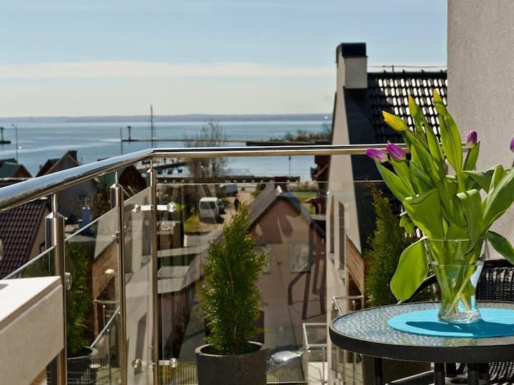 Widokowy Apartament A12 Marina