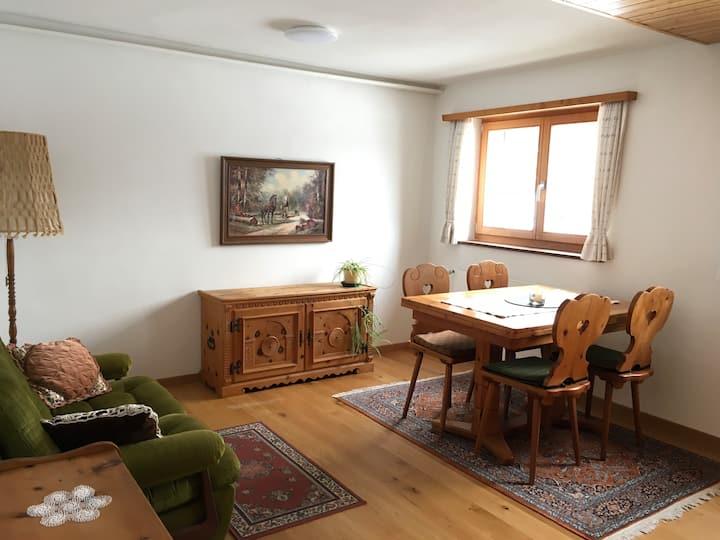 Kleine, gemütliche Ferienwohnung im Bergdorf Pany