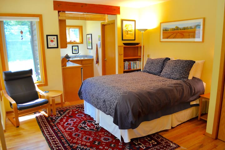 Peaceful studio apt in the redwoods - McKinleyville - Wohnung