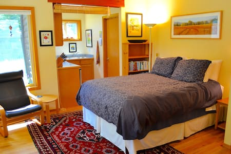 Peaceful studio apt in the redwoods - McKinleyville - Lakás