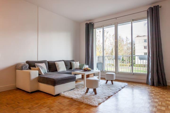 Appartement spacieux et lumineux à l'orée du bois