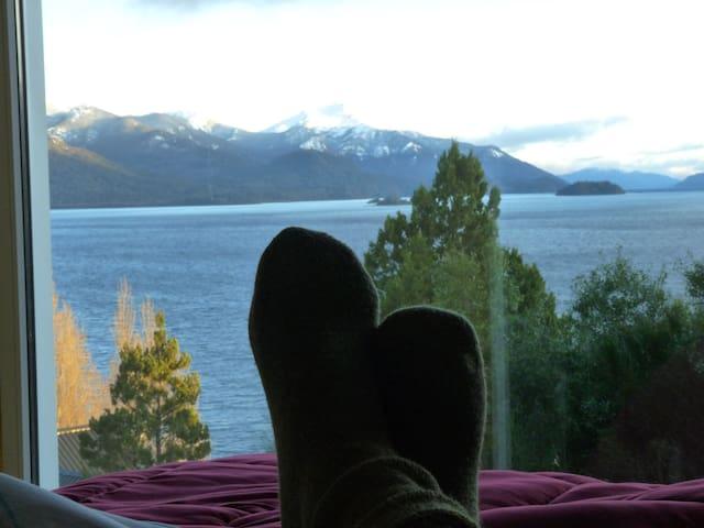 cabaña seeblick p.a. - San Carlos de Bariloche - Kabin