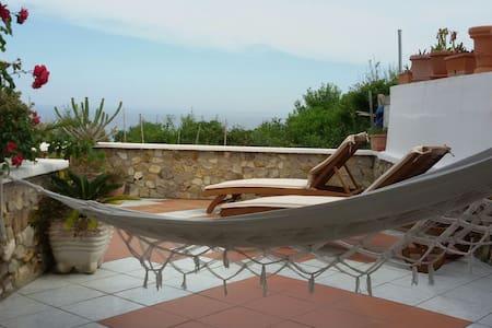 Casa con terrazza vista mare