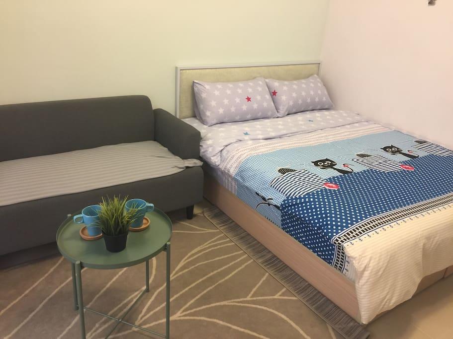 舒適的空間,住的安心又好眠!