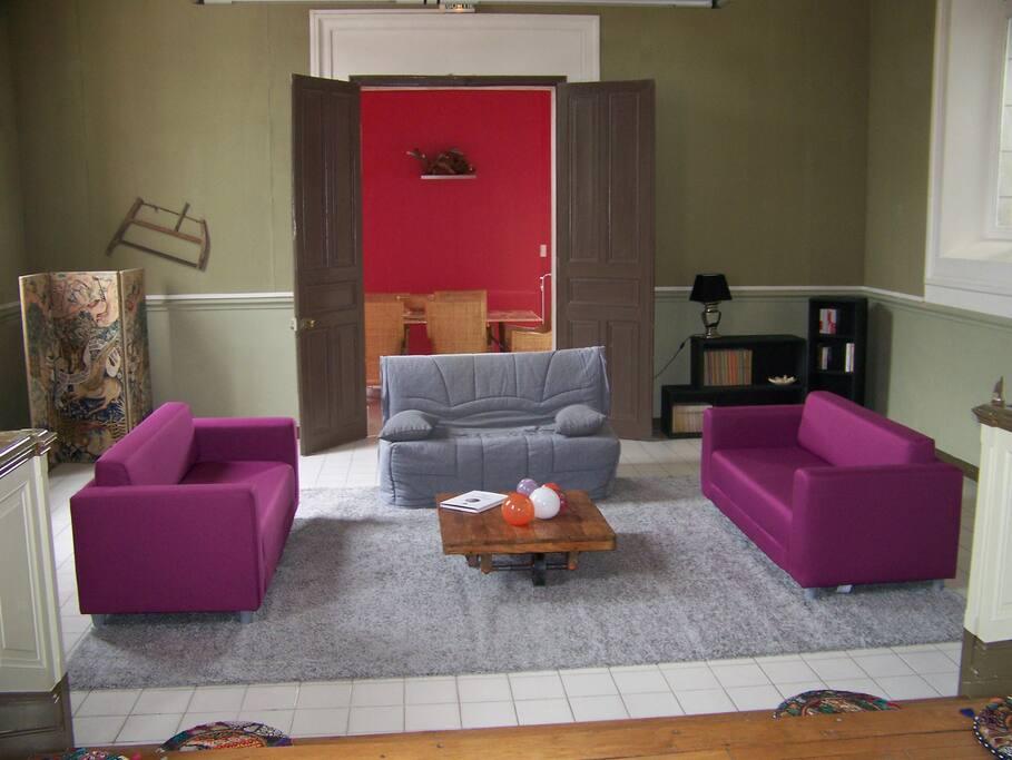 Salon de 60 m2