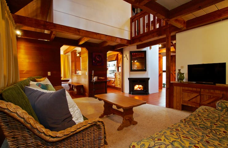 Beautifully Appointed Swiss Chalet - Ohakune - House
