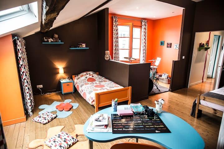 Agréable chambre en centre ville d'Angoulême