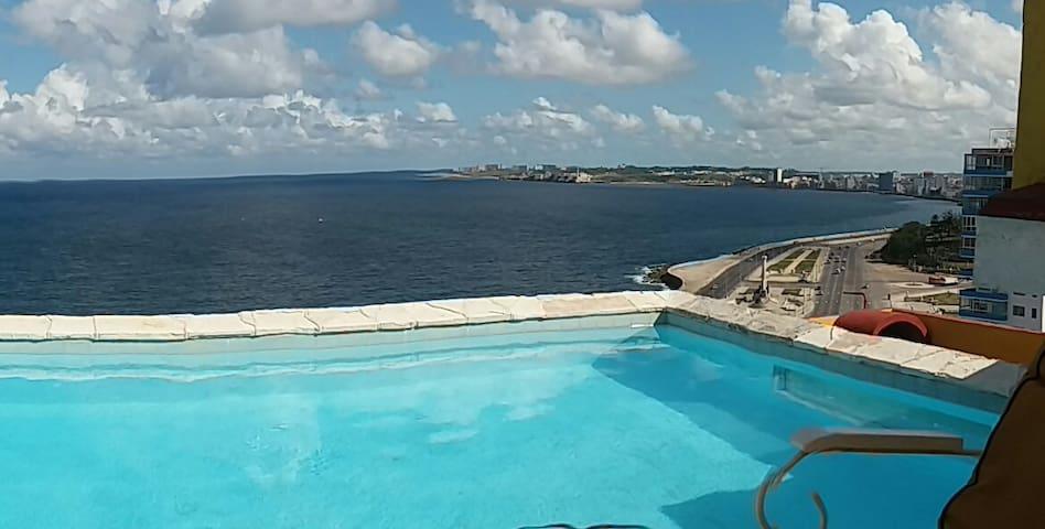 Habanavista Relais ocean&pool  (Std Room Vedado)