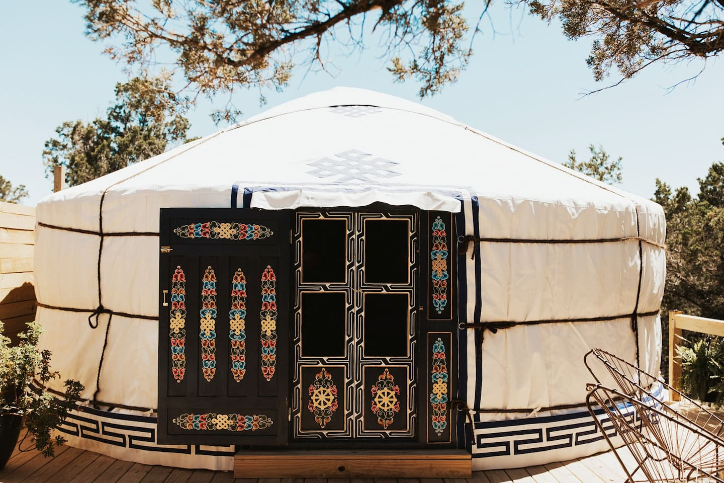 The average cost to stay in this yurt is $315