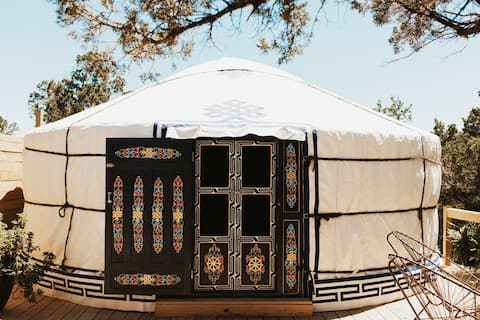 "Private, Romantic Yurt - ""Sasha Ger"" by Yurtopia"