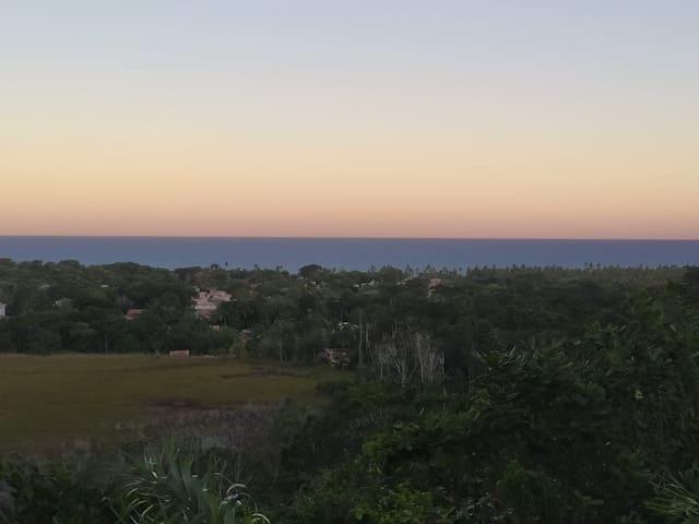 Apartamento charmoso com vista para o mar