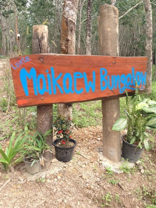 Name of bungalows