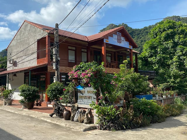 Khánh Ngọc Homestay is newly two-storey hostel