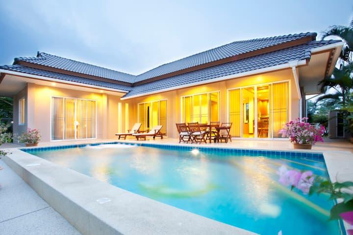 3BR Villa with private pool Hua Hin
