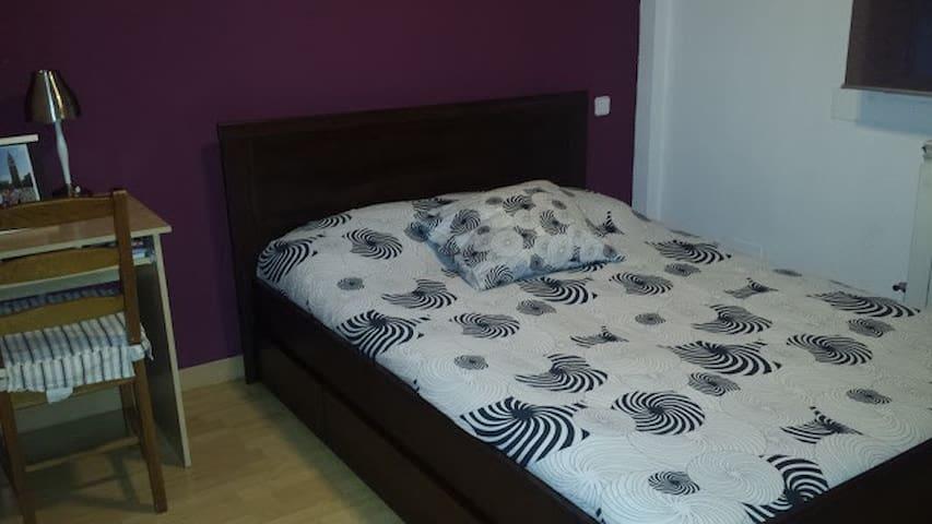 Habitacion comoda y tranquila en Barrio del Pilar - Madrid - Leilighet