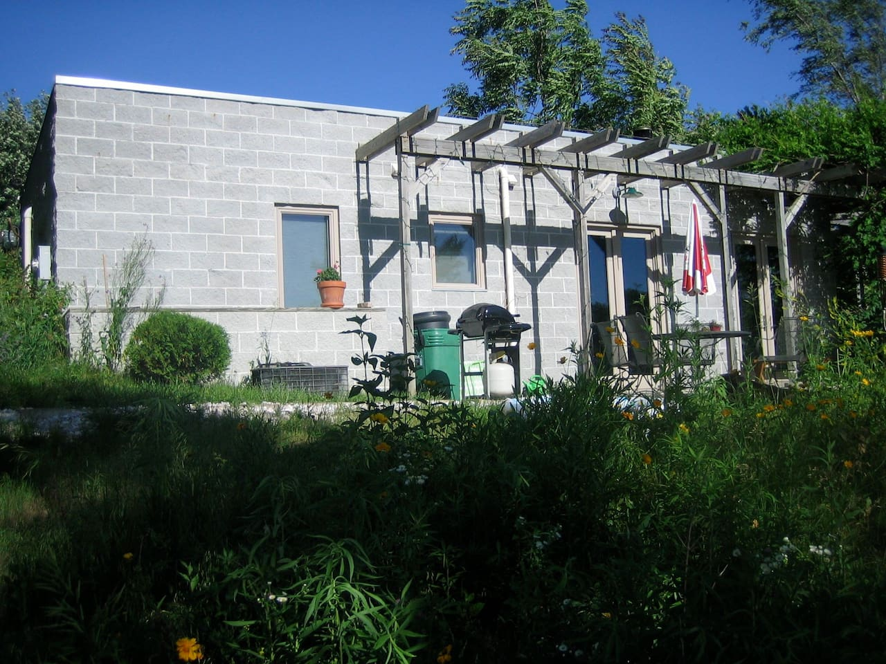 Exterior of Sundowners, facing West