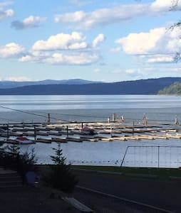 Summer living on Lake Coeur d Alene - Hus
