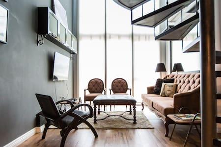 Vintage One Bedroom Loft @ Rockwell - Makati - Loft