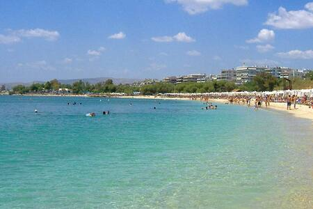 VIP Beach Penthouse apt near Athens
