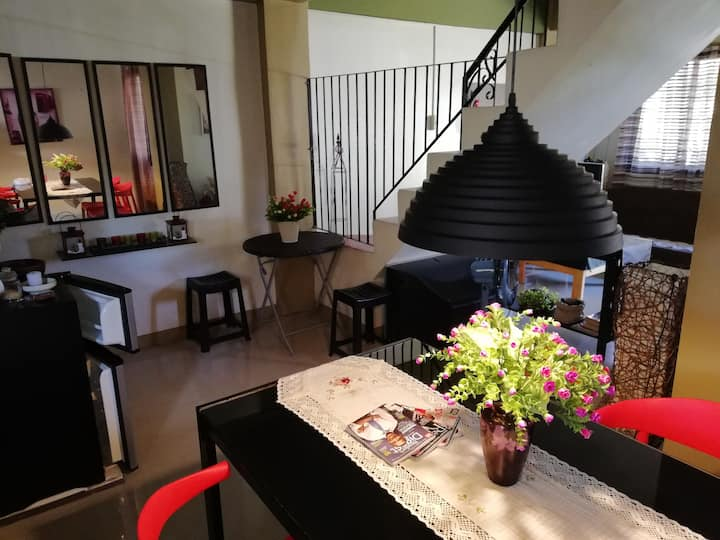 Jillian's Place - 1BR with T&B for 2 - 3 persons