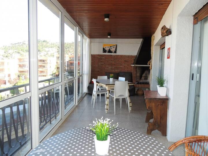 Appartement à louer à Roses à 400 mètres de la plage-PARAI B3