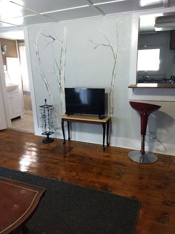living room area with smartTV and wifi