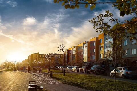 Уютная квартира в центре с местами для прогулок.