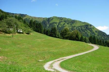 Casa di Nan, tipica del '700, Carnia, Alto Friuli. - Maranzanis - Talo