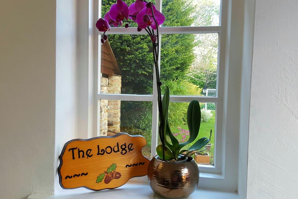 The Lodge entrance hall