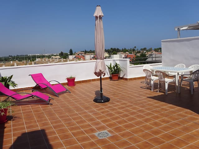 Penthouse apartment with big terrace
