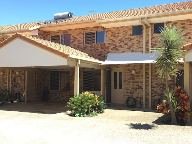 Front Entrance and Carport
