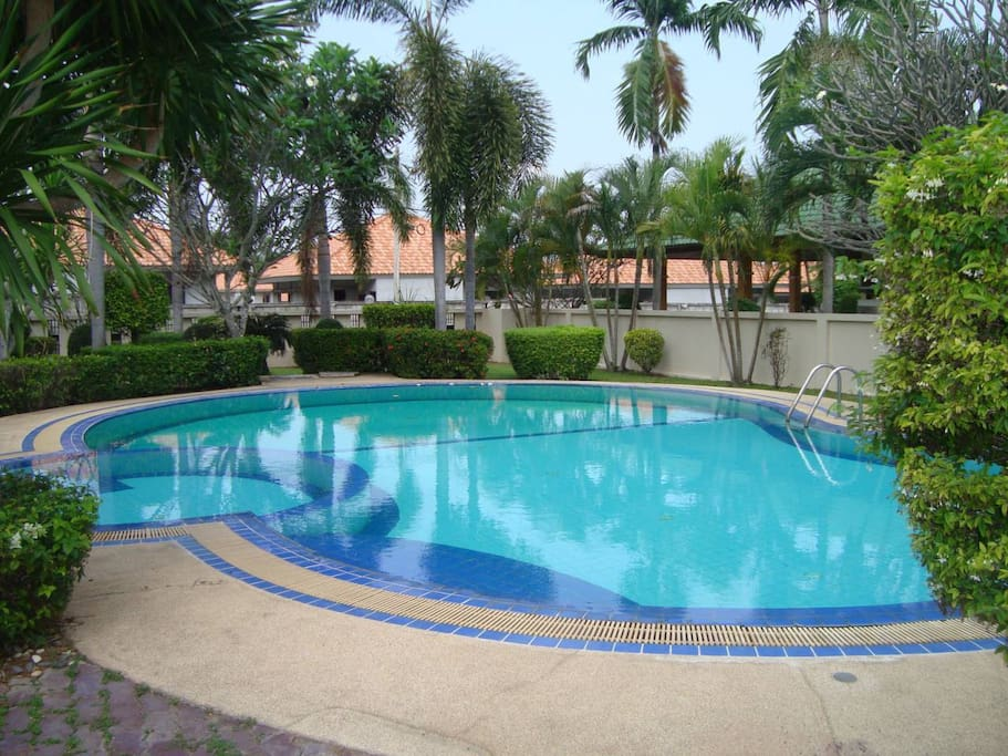 SWIMMING POOL AND GARDENS