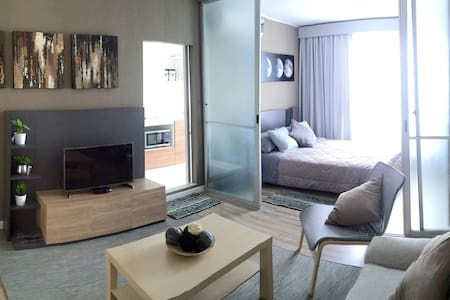 Nr. trains/airport, transfer incl. Wifi, Netflix - Bangkok - Apartemen