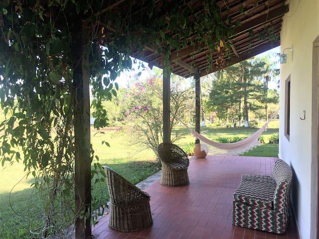 Casa de campo / sítio à 50 min de SP! - Embu-Guaçu - Cabin